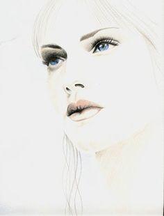 Risultati immagini per disegni profili viso