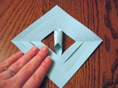 How to Make a 3D Paper Snowflake: 11 Steps (with Pictures)