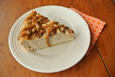 Trim Healthy Mama Caramel Apple Cheesecake - make this for an fall family get-together or potluck! | MargeauxVittoria.com