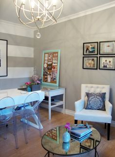 garage converted into a home office :)  @Kim Goodwin  Newcreationshi@hotmail.com