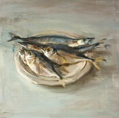 """Fish on Dish"" - Originals - All Artwork - Quang Ho Painting Still Life, Still Life Art, Paintings I Love, Flower Paintings, Food Art Painting, Painting Lessons, Color Script, Oil Painters, Fish Art"