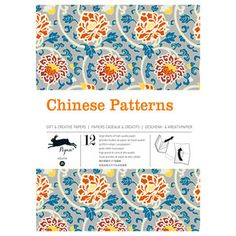 Chinese Patterns Book, 9,95€, now featured on Fab.