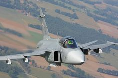 Saab JAS 39 Gripen (Multirole fighter)  The Saab JAS 39 Gripen is a light single-engine multirole fighter aircraft manufactured by the Swedish aerospace company Saab. It was designed to replace the Saab 35 Draken and 37 Viggen in the Swedish Air Force.