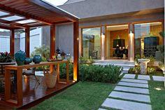 24 Πέργκολες που θα σε κάνουν να μην ξαναμπείς σπίτι! Diy Pergola, Wooden Pergola, Gazebo, Outdoor Spaces, Outdoor Decor, Cool Pools, Architecture Design, Backyard, Exterior