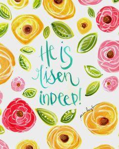 Art by Erin Leigh: He is Risen