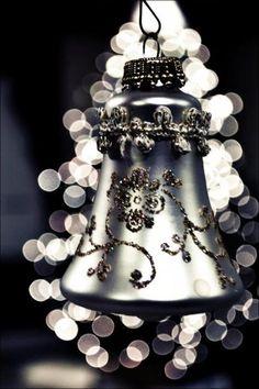Christmas bell ornament...
