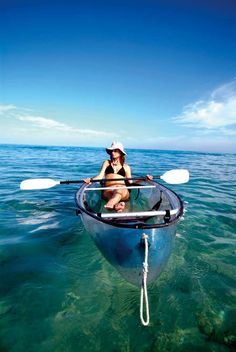 A great way to #relax on open water! #metime #kayak