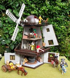 Don Quixote And The Windmill ~ Emma.J's Playmobil