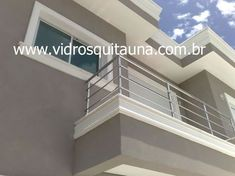 Steel Railing, Balcony Railing, Iron Gates, Exterior House Colors, Stairs, House Design, Outdoor Furniture, Windows, Architecture