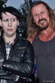 Marilyn Manson aka Tully (yuck) & Rusty Coones aka Quinn
