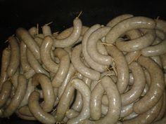 Výroba domácích uzenin - Jitrnice - Slovenské jitrnice-HURKY Radek Klimo Sausage, Food, Beverage, Sausages, Essen, Meals, Yemek, Eten, Chinese Sausage
