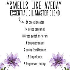 Smells Like Aveda diffuser oil recipe