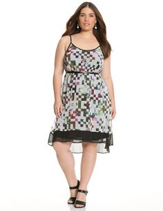 Full Figure High Low Tank Dress by Lane Bryant | Lane Bryant