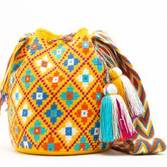 WAYUU TRIBE   Handmade Bohemian Bags  $159.00 www.wayuutribe.com