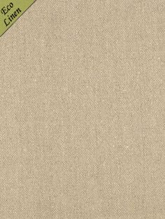 Calvin Fabrics - BENNET LINEN TEXTURE - NATURAL - rich flaxen toned 100% Belgian eco linen - contract rating: WYZENBEEK: 30,000 & NFPA 260/UFAC CLASS I