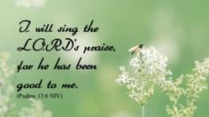 Sing the LORD's Praise - http://blog.peacebewithu.com/sing-the-lords-praise/