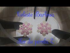 Chinelo decorado - Manta de flores de pérolas - YouTube