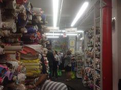 Visit to Mood Fabrics