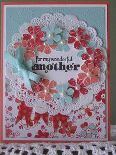 Stampin' Up Handmade Greeting Card Wonderful by ConroysCorner