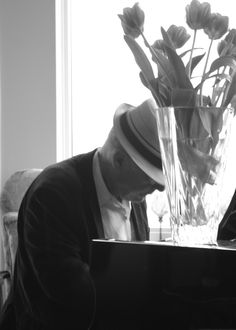 Durb at the Piano
