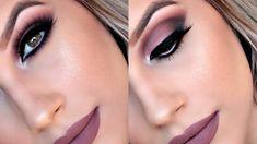 Tageshochzeits-Make-up – Make-up-Tools Bridesmaid Makeup, Prom Makeup, Hair Makeup, Makeup Tips, Makeup For White Dress, Beauty Make Up, Hair Beauty, Party Makeup Looks, Lip Makeup Tutorial