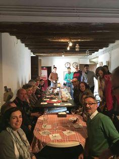 Cata en la Casa Rural Los abuelos de Mengabril. Extremadura.