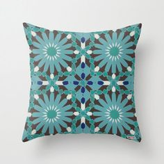 Decorative Pillow Cover Morocco Cushion Cover Mosaic Pillow Cover African Pillow Colorful Pi