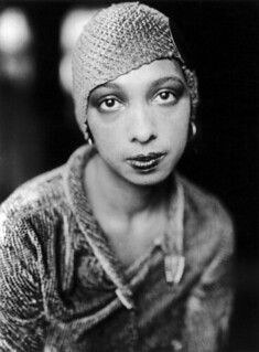Josephine Baker may be widely recognized for her Josephine Baker, Black Actors, Black Actresses, Black Celebrities, Vintage Black Glamour, Vintage Beauty, Silent Film Stars, Black History Facts, Flappers