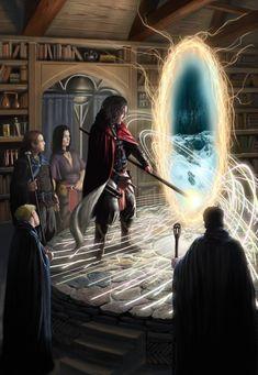 As ilustrações de fantasia e terror para games de Joe Slucher