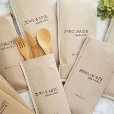 1 Set of Bamboo Utensils Zero Waste cutlery Reusable utensil.- 1 Set of Bamboo Utensils Zero Waste cutlery Reusable utensils Plastic free picnic lunch hike air travel college work school Dinner flatware - Sustainable Wedding, Sustainable Living, Sustainable Products, Sustainable Fashion, Zero Waste Store, Plastic Waste, Biodegradable Products, Eco Friendly, Web Design