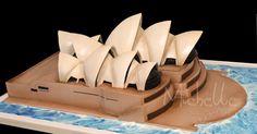 Finishing of Sydney Opera House Cake for a wedding serving 120 guest LED Lightings Dear Michelle, I just wanted to say a hu. Beautiful Cakes, Amazing Cakes, Fondant Cakes, Cupcake Cakes, Architecture Cake, Australia Cake, Super Mario Cake, City Cake, Travel Cake