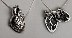anatomically correct heart necklace, how romantic