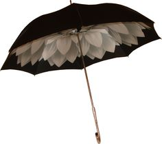 images rhinestone umbrella | Pasotti Black & Silver Dahlia Umbrella - Raindrops Umbrellas ...