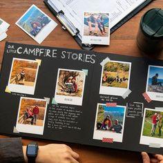 Polaroid Photo Album, Polaroid Photos, Couple Scrapbook, Scrapbook Journal, Photo Album Scrapbooking, Scrapbook Albums, Bff Birthday Gift, Birthday Gifts For Boyfriend Diy, Personalized Photo Albums