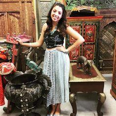 Bohemian Gypsy Stylish Skirts : Bohemian Festive Flare Long Maxi Skirts