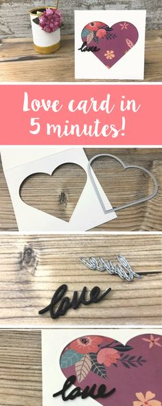 So you've been a bit forgetful you've left your Valentine's Day card to the last minute. Well, we've got you covered. Discover how you can make this simple & easy Valentine's Day card in only 5 minutes. Get a feature with us using #mymakingstory- #cardmaking #valetinesday #valentinescrafts #valentines #crafts #valentinesgifts #valentinescards #handmade #makersgonnamake #diecutting #sizzix #sizzixideas #sizzixbigshot