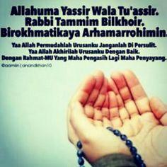63 Gambar Allahumma Yassir