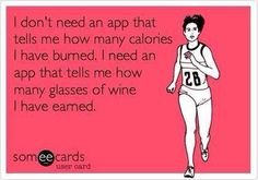 This is exactly why I run...for wine if course!!!