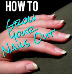 How to Actually Grow Out Your Nails.