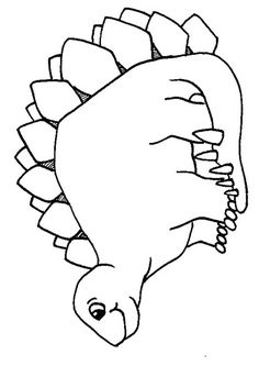 Free Dinosaur Colouring Pages and Downloads from Paul