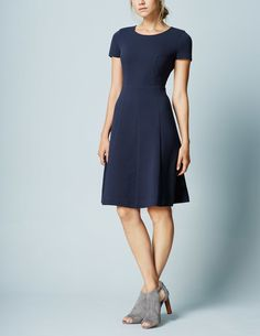 Maggie Ottoman Dress WH975 Clothing at Boden
