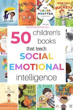 Children's Books that Teach Social-Emotional Intelligence