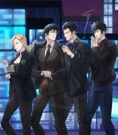 Cool Anime Guys, Handsome Anime Guys, Hot Anime Boy, Manga Illustration, Character Illustration, Otaku Anime, Anime Manga, Ginoza Nobuchika, Anime Gangster