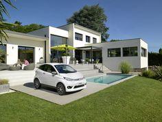 Der richtige Platz für ein Mopedauto #aixam #coupé #premium #sonnenplatz #swimmingpool Vehicles, Car, Autos, Automobile, Summer Recipes, Vehicle