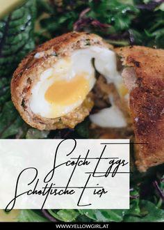 Scotch eggs – Schottische Eier – low fodmap – cook it your way Scotch Eggs, Brunch, Quotes And Notes, Herd, Low Fodmap, Cooking, Breakfast, Health, Blog