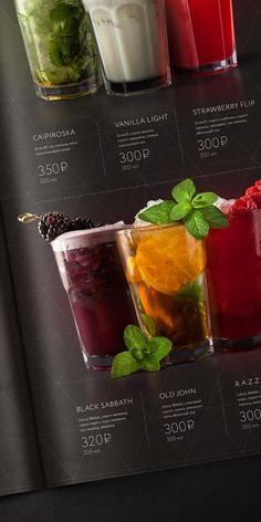 RAGU cafe | Identity | elements | menu by Feel Factory, via Behance