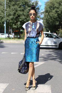 PIPM: Pretty in Pink Megan: Pencil Skirt Look + New Blog Sale Items