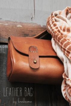 Leather bag by Tine K Home