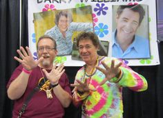 Me with Barry Williams at Fanboy Expo Totally Awesome Weekend 2017, 10/7/2017.