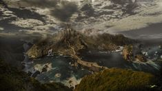 Dragonstone - This is a composite! I made it from different photos I took at Gaztelugatxe. Gaztelugatxe (Dragonstone in Game of Thrones) is a small Island on the coast of the Biscay. Bermeo, Basque Country (Spain) and it was one of the Film Locations from Game of Thrones.